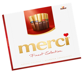 merci - a very special thank you